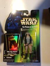 Rebel Fleet Trooper Star Wars Power of the Force (Hologramme) carte verte
