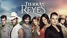 TIERRA DE REYES (40 DVDS) ,TELENOVELA MEXICANA