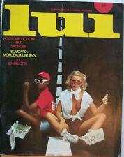 MAGAZINE MASCULIN DE CHARME « LUI n° 164 SEPTEMBRE 1977»