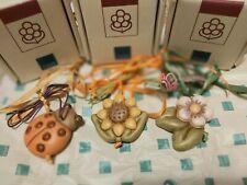 THUN 3 ADDOBBI coccinella-fiore di pesco-girasole