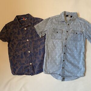 Boys John Lewis And River Island Shirts Size 5 Years