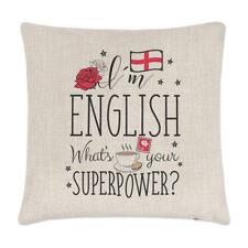 I'm Anglais Ce Qui Est Your Superpower Lin Housse De Coussin Oreiller Drôle