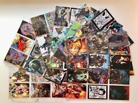 Comic Greats '98  trading card complete base set by Comic Images 1998 (72)