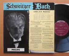 Albert Schweitzer Bach Organ Music Vol. 1 Philips ABL 3092 NM/EX