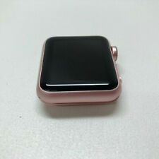 LOCKED Apple Watch Series 1 38mm Rose Gold Aluminum Case, Watch ONLY, READ