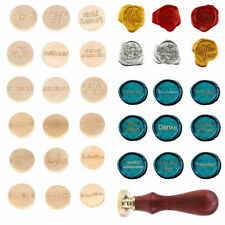 Vintage Wax Seal Stamp Different Language For Wedding Invitations Gift Blessing