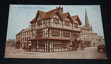 Vintage postcard of Hereford Old House