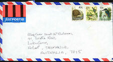 New Zealand 1989 Commercial Airmail Cover To Australia #C42143