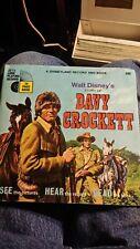 Walt Disney's Davy Crockett 1971 Disneyland 360 Children's Story 45