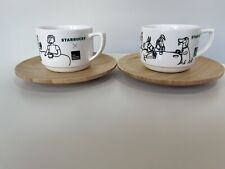 More details for starbucks 2020 singapore the animal project cup and saucer set very rare!!!