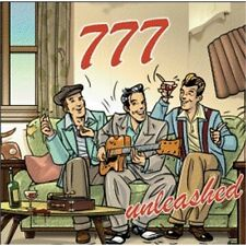 777 Unleashed CD Triple Seven Neo Rockabilly Rock and Roll NEW Sealed