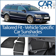 VW Passat Estate 12-15 UV CAR SHADES WINDOW SUN BLINDS PRIVACY GLASS TINT BLACK