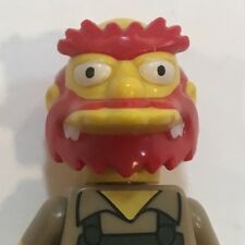 GROUNDSKEEPER WILLIE Genuine Lego Minifigure The Simpsons Series 2 no.13 71009
