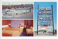 Motel Chez Nous—Chomedey Quebec Vintage Roadside CPA Montreal ca. 1957