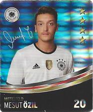Sammelbild Nr 20 Mesut Özil REWE Glitzer Sticker Fußball EM 2016 TOP