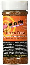 Dizzy Pig BBQ Seasoning Dizzy Dust Coarse Rub 8 oz Meat Grill Mild Heat Spice