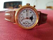 """Chronograph """" Geneve """" Mondphase Valjoux 7768"""