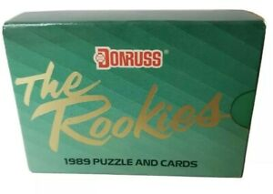 1989 Donruss The Rookies Factory Sealed 56 Card Set Ken Griffey Jr Rookie