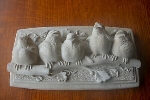 Carruth Studio Vintage 1990 Baby Birds Plaque 116