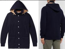 Brunello Cucinelli Padded Cashmere Hooded Cardigan Coat Jacket Jacke Parka 52