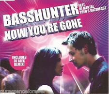 BASSHUNTER ft DJ MENTAL THEO'S BAZZHEADZ - Now You're Gone (UK CD Single Pt 1)