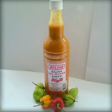 HOT PEPPER SAUCE! LARGE 750ML.  Sugar Free, Mustard Base, 100%bajan