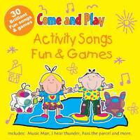 (Good)-Activity Songs & Fun and Games (Audio CD)-CRS records-1847110398