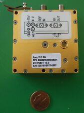 Herley CTI phase locked PDRO precision oscillator 15200 MHz, 15.2 GHz, tested