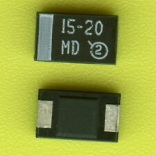 100× Vishay 293D156X9020D2 TANTALUM CAPACITOR 20V 15uF 10% D-CASE SMD SMT 50 25†