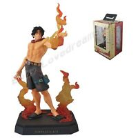 "JP Anime One Piece History of Ace Portgas.D.Ace 23cm/9.2"" PVC Figure New In Box"