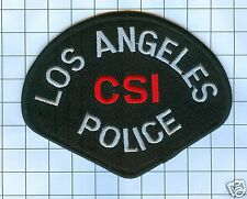Police Patch -  California - Los Angeles CSI