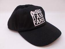 Big Ass Fans Baseball Cap Hat Logo Embroidered Adjustable Trucker Black
