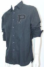 Polo Ralph Lauren Oxford Rugby Bulldog Shirt Button-Down Black Sz Medium NWT