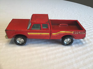 Nylint Red Pickup Truck Pressed Steel