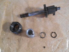 1983 83 HONDA XR80 KICK STARTER SHAFT + SPRING + GEAR XR XL 80
