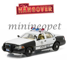 GREENLIGHT 86506 THE HANGOVER 2000 FORD CROWN VICTORIA POLICE INTERCEPTOR 1/43