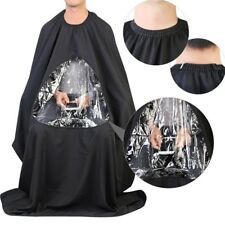 Salon Apron With Viewing Window Hairdresser Barber Hair Cutting Gown Cape #NP5