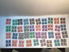 Vintage German Democratic Republic Stamps Used Blocks ( Lot B)