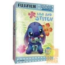 FUJIFILM FUJI INSTAX MINI Instant FILM 1 PACK / LILO AND STITCH 4 8 sp2 25 90