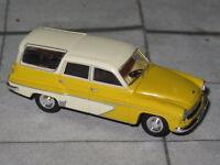 Brekina 27119 - Modell 1/87 - Wartburg 311 Camping - gelb / elfenbein - DDR