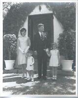 Photo Camelot John F Kennedy and Family 1st Lady Jacqueline John Jr Caroline