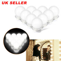 10X Vanity Mirror Lights Dimmable LED Makeup Lights For Makeup Dressing Table UK