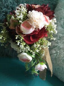 Sunflower wedding flowers package bridal bouquet decorations bouquets CORAL