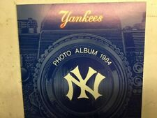 Vintage 1984 NY Yankees Photo Album W/ 34 Player Signed MINT? RARE