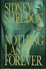 "Sidney Sheldon Signed ""Nothing Lasts Forever"" Book (PSA/DNA)"