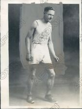1924 Canadian Olympic Runner Arthur R Scholes Press Photo