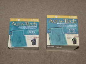 8 - Aqua-Tech EZ-Change Filter Cartridges for 5-15 Power Aquarium Filters NEW