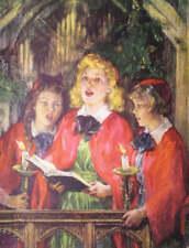 Christmas Carolers by Margaret Gardner