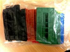 ASSORTED PLASTIC HORSESHOE PACKERS 50x100mm box of 24 bags
