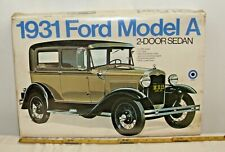 ENTEX 1931 FORD MODEL A COUPE 1/16 SCALE MODEL KIT UNTOUCHED 9014 SEALED
